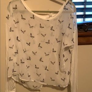 Aeropostale bird shirt.